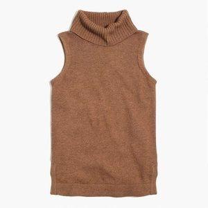 J. Crew Camel Turtleneck Sweater!